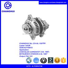 OEM:A2T49972 generator alternator price list 75A 12V Lester:14438