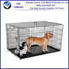 metal wire dog cage/Collapsible Metal Wire Pet Dog Crate