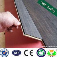 10 mm / 8mm/ 12mm HDF / MDF acoustic underlayment for laminate flooring