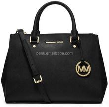 2015 MK Fashion Sutton Saffiano Leather Satchel Tote Bags Designer MK Women Brand Name Handbags