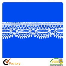 Factory Direct Sales cotton lace trimmings for garment 01030