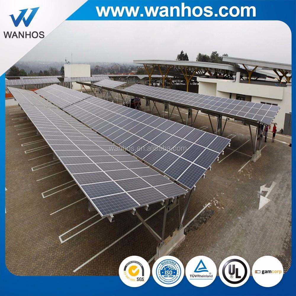Solar panel mounting bracket