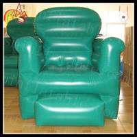 China factory directly sell inflatable sofa chair model,inflatable chair for advertising