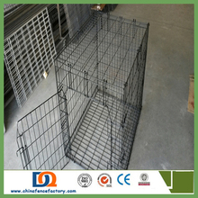 7 Stainless Steel large Dog Cage IN/Travelling Aluminum Dog Pet Carrier, Aluminum Dog Cage