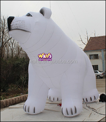 giant inflatable advertising figure customized bear