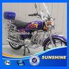 SX70-1 EEC 4 Stroke 100CC Motorbike For Sale Russia