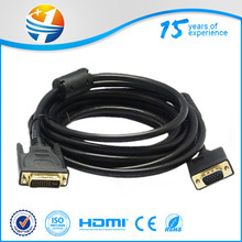 2014 high speed db9 cable to dvi cable with fast delivery date