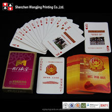 Wholesale Cheap Promotional Custom Paper Print On Magic Playing Cards, Logo Custom Playing Cards