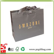 coated paper/paper bags wholesale/store paper bags
