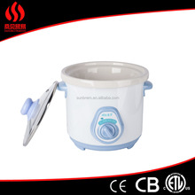 1.5L Round Slow Cooker with CE ROSH GS