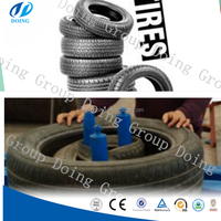 Best selling tyre tripling machine tire tirpler tire packing machine