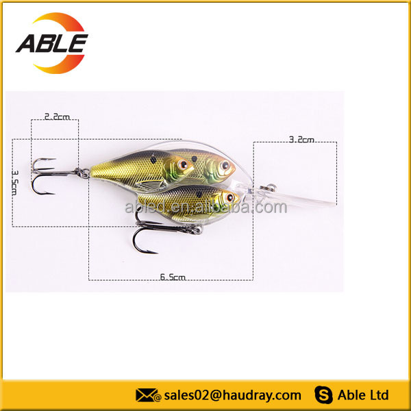 Wholesale hard plastic lure fishing tackle jig head for Fishing lure molds