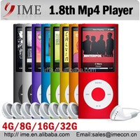 1.8'' LCD Mp3 Mp4 Player Speaker 4G/8G/16G/32G Mp4 Free download video songs HOT
