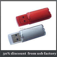 wholesale bulk 32GB transparent plastic usb flash drive
