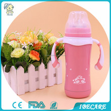 IBECARE Vacuum Seamless Welding Stainless Steel Baby Feeding Bottle
