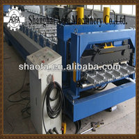 glazed roof tile roll forming construction machine steel tile machine for sale