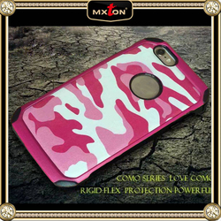 Customized Logo Printed Desert Camouflage Smart Cover Dot For Iphone 6