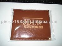 pu man's wallet travel wallet