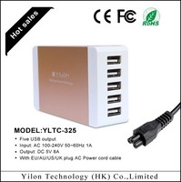 wholesale/retail usb charger multi adapter travel adapter