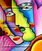 Modern Handmade Canvas Wall Art Picture