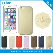 OEM&ODM Ulike new design high quality ultra thin slim soft pu leather back cover for iphone 6