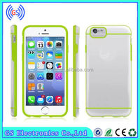 2014 New Ultra Thin Transparent Crystal Clear TPU Cover for iPhone 6 Mix color
