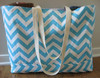 High quality chevron print totes bag , chevron beach tote , chevron cotton tote bag for wholesale