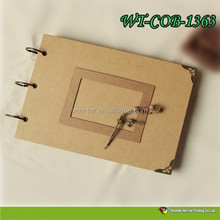 WT-COB-1363 customized paper photo books for memory