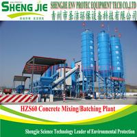 Better HZS 60 Concrete Batching Plant For Sale