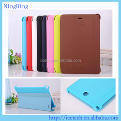 High quality book cover for samsung tab e 9.6,pu leather case for samsung galaxy tab e t561