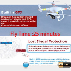 Direct Manufacturer Drone Video Hd for Aerial Photography Flying More Then 1000 Meters for 25 Minutes Like Ghost By Salange