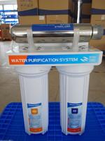under sink 3 stage uv filter agricultural water filter
