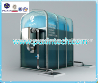 New technology assembly DIY small biogas plant