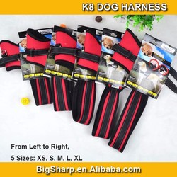 20pcs Wholesale Large Dog Chest Straps Firm Pet K8 Dog Harness For Large Dog Pet Breed Dog Golden Retriever Husky DH08K