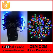 50 LED Four Mixed-color/Pink Solar Powered Fairy String Lights Garden Party Decor Birthday Paarty Decoration G0075
