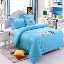2015 New Applique Embroidery christmas bedding sets home textile wholesale Cartoon Queen and Twin Duvet Cover Bedsheet