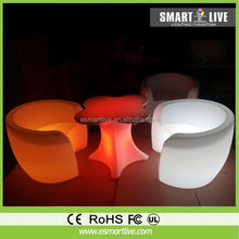 remote control color changing led garden sofas