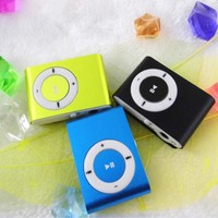 Top sale factury supply mini clip waterproof mp3 player with TF card slot