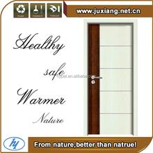 popular designs Water/fire/insect proof WPC wkitchen cabinet wooden door designs