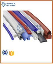 solid or sponge silicone extrusion profile for sealing application