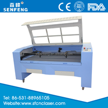 Wedding Dress / Leather / Textiles Cutting Machine 1600*1000 mm Laser Cutter SF1610E
