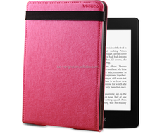 New arrival Leather Cover Case for Kindle Paperwhite Case with with auto sleep wake up function HH-EKP04(18)