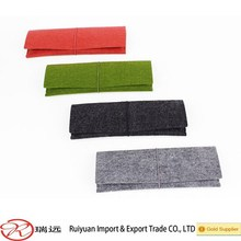 2015 New designer wholesale felt pencil case made in China