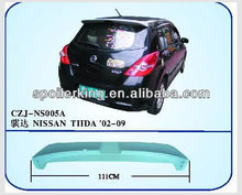 ABS REAR SPOILER FOR TIIDA 02-09