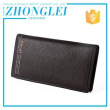 Fancy Design Customized Shape Compared Clip Wallet Card Holder Pu Leather Case