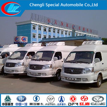 Foton -8 refrigerated truck China's small refrigerator car for sale