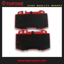 Best Quality Semi metallic Read Front Brake Pad For MERCEDES BENZ OE: 0034205820 0044200520 004420052067