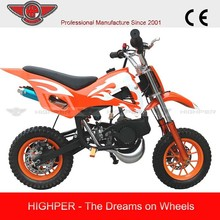 high per 49cc 2 stroke mini Dirt Bike (DB504)