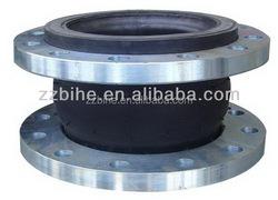 Rigid flexible expansion couplings rubber joints