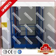 La construcción del mecánico hidráulico Vertical de ascensores